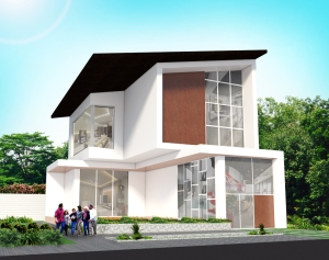 Fresh House dengan ukuran lahan 20x30
